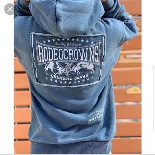 ロデオクラウンズワイドボウル(RODEO CROWNS WIDE BOWL)の完売品✩RODEO CROWNS✩RCWB✩カラーパッチパーカー(パーカー)