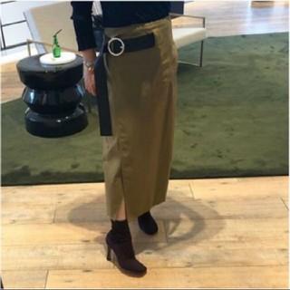 セリーヌ(celine)のCELINE フィービー ラップスカート(ひざ丈スカート)