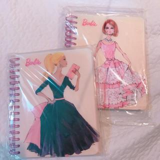 バービー(Barbie)のBarbie♡ノートブック二冊(ノート/メモ帳/ふせん)