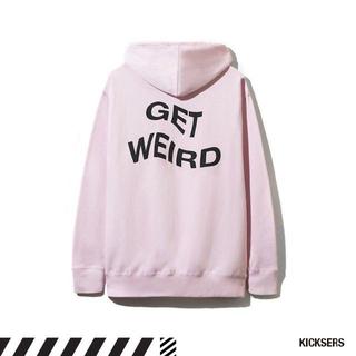 アンチ(ANTI)の【SALE】Anti Social Get Weird Hoodie PinkM(パーカー)