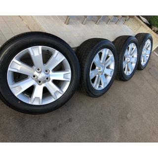 ミツビシ(三菱)の三菱デリカD5純正ホイール&タイヤ 18インチ美品(タイヤ・ホイールセット)
