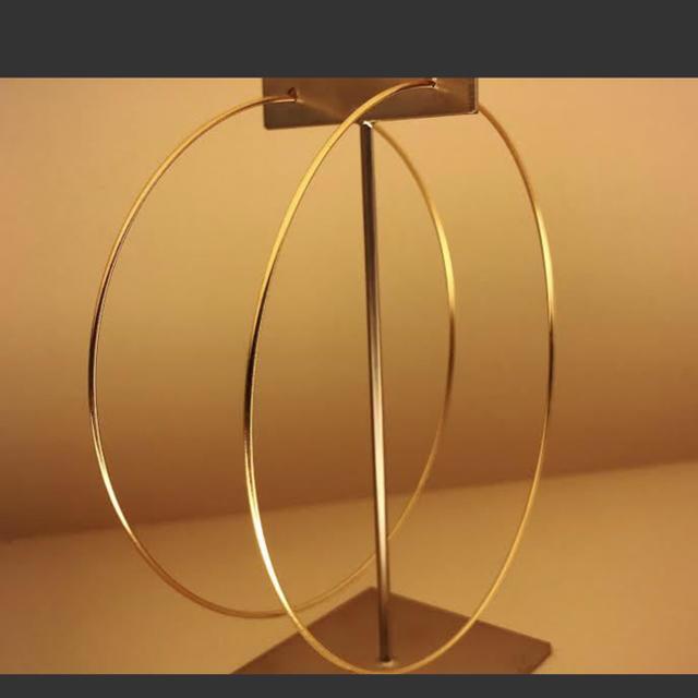 Enasoluna(エナソルーナ)のここん様専用 エナソルーナ  グラマー フープピアス レディースのアクセサリー(ピアス)の商品写真
