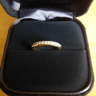 ティファニー(Tiffany & Co.)のティファニー ダイヤモンドハーフサークルリング(リング(指輪))