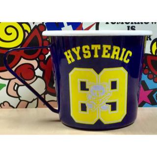 ヒステリックミニ(HYSTERIC MINI)のヒスミニ ☆正規品☆新品☆ホーローカップ☆コップ☆食器☆ファックベア(グラス/カップ)