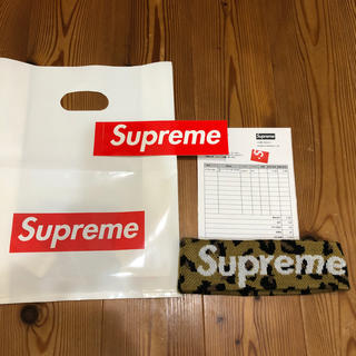 シュプリーム(Supreme)のSupreme New Era Big Logo Headband ヘッドバンド(バンダナ/スカーフ)
