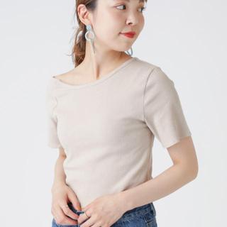 ミスティック(mystic)のmystic ワンショル デザインT ベージュ(Tシャツ(半袖/袖なし))