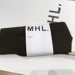 マーガレットハウエル(MARGARET HOWELL)の【増税前限定価格】MHL. ソックス ウィメンズ(ソックス)