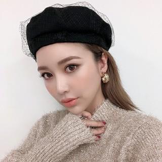 エイミーイストワール(eimy istoire)のeimy istoire☆チュール付きベレー(ハンチング/ベレー帽)