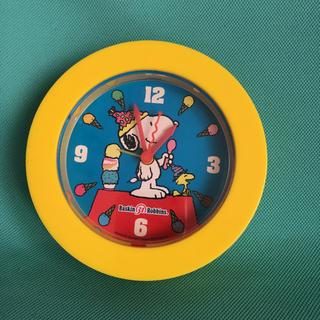 スヌーピー(SNOOPY)のスヌーピー  置時計(置時計)