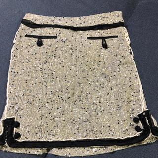 グレースコンチネンタル(GRACE CONTINENTAL)のグレースコンチネンタル ツウィード スカート(ミニスカート)