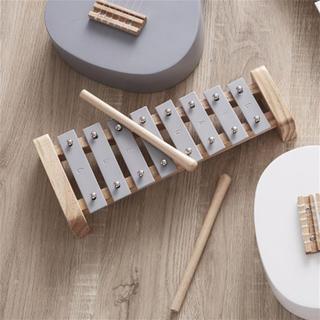 ボーネルンド(BorneLund)の新品★Kids Concept★シロフォン グレー(楽器のおもちゃ)