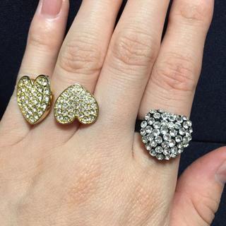 ローリーズファーム(LOWRYS FARM)の♡指輪(右)(リング(指輪))
