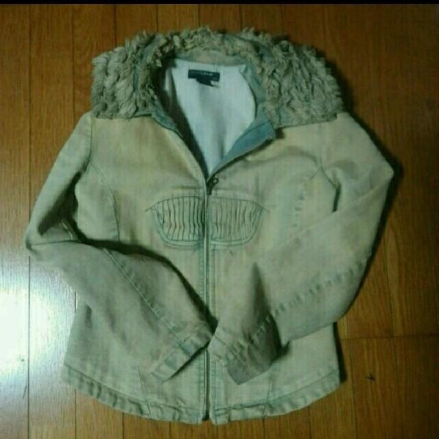 DIESEL(ディーゼル)の☆激レア ほぼ一点物☆ディーゼル  StyleLab デニムジャケット  レディースのジャケット/アウター(Gジャン/デニムジャケット)の商品写真