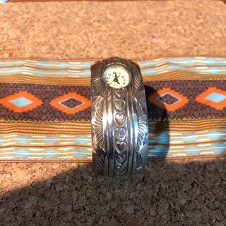 インディアン(Indian)のインディアンジュエリー バングル ウォッチ 時計(腕時計)