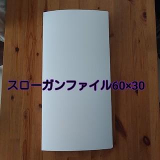スローガンファイル60×30用(クリアファイル)