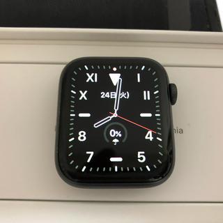アップルウォッチ(Apple Watch)のApple Watch Series 4 グレイ44mm AppleCare+(スマートフォン本体)