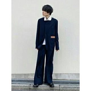 サンシー(SUNSEA)のSUNSEA SNM BLUE ジャケット ネイビー サイズ2(テーラードジャケット)