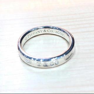 ティファニー(Tiffany & Co.)のTiffany ティファニー リング 指輪 ナローベーシック 925 1837(リング(指輪))