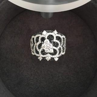 ジョルジオ ヴィスコンティ ダイヤモンド リング K18WG 2.51ct(リング(指輪))