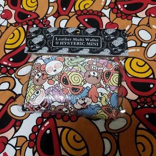 ヒステリックミニ(HYSTERIC MINI)のヒスミニ 新品♡カードウォレット バニラビーンズ 牛革 レア(財布)