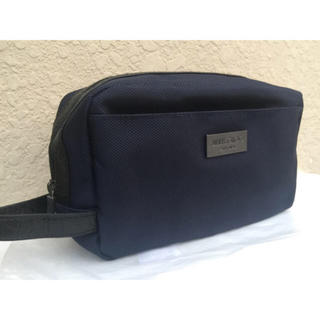 ジミーチュウ(JIMMY CHOO)の新品未使用◆セカンドバッグ◆ジミーチュウ ◆ネイビー(セカンドバッグ/クラッチバッグ)