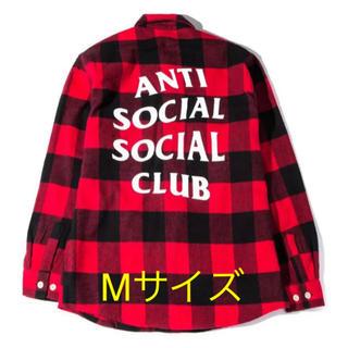 Anti Social Social Club フランネルシャツ Mサイズ(シャツ)