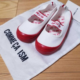コムサイズム(COMME CA ISM)のみぃー様専用   新品★コムサイズム 赤上靴16cm(スクールシューズ/上履き)