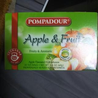 ポンパドール(POMPADOUR)のアップル&ハーブミックスハーブティー(茶)