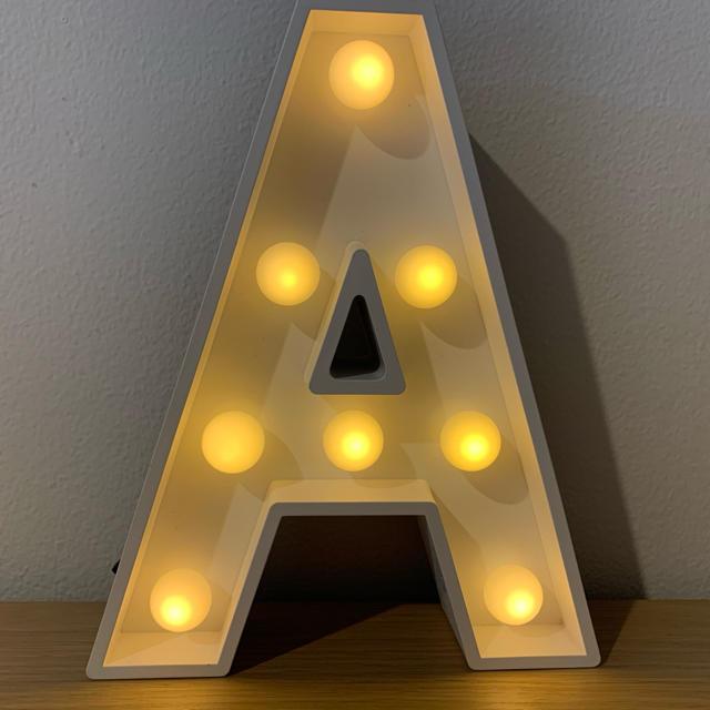 Francfranc(フランフラン)のマーキーライト A インテリア/住まい/日用品のライト/照明/LED(その他)の商品写真