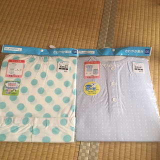 ニシマツヤ(西松屋)の新品 西松屋 パジャマ 半袖 130(パジャマ)