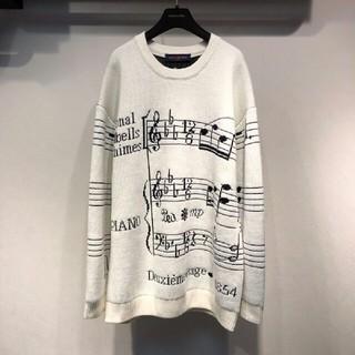 ルイヴィトン(LOUIS VUITTON)の秋冬コーデ Louis Vuitton セーター 音楽スペクトル(セット/コーデ)