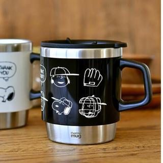 thermo mug - サーモマグ スヌーピー スタッキングマグ ブラック