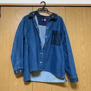 ザノースフェイス(THE NORTH FACE)のBroken Twille Denim Shirt Jacket(Gジャン/デニムジャケット)
