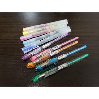 ムジルシリョウヒン(MUJI (無印良品))のカラーペン10本セット(ペン/マーカー)