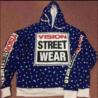 ヴィジョン ストリート ウェア(VISION STREET WEAR)のHARF MAN VISIONコラボパーカー♡美品(パーカー)
