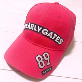 パーリーゲイツ(PEARLY GATES)の30周年 パーリーゲイツ 帽子(キャップ)