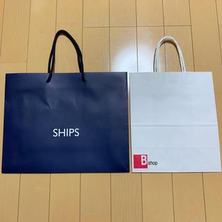 シップス(SHIPS)のSHIPS   Bshop   紙袋(ショップ袋)