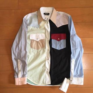ラフシモンズ(RAF SIMONS)のCalvin Klein 205w39nyc  カラーシャツ 購入金額14万円 (シャツ)
