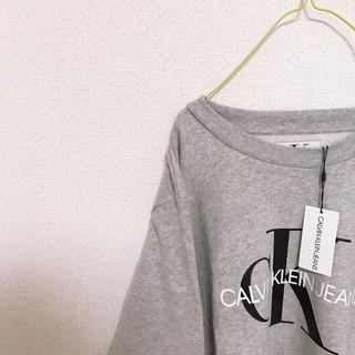 カルバンクライン(Calvin Klein)の新品未使用タグ付き カルバンクライン CALVIN KLEIN スウェット (スウェット)