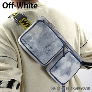 OFF-WHITE - 『Off-White-オフホワイト』 デニム ヒップベルト ボディバッグ