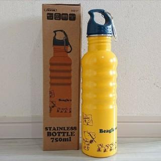 スヌーピー(SNOOPY)のスヌーピー 新品 ステンレス 一層 アウトドアボトル 750ml(水筒)