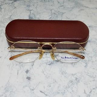 ポロラルフローレン(POLO RALPH LAUREN)のメガネ(サングラス/メガネ)