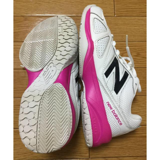 New Balance(ニューバランス)のニューバランス テニスシューズ 23.0cm スポーツ/アウトドアのテニス(シューズ)の商品写真