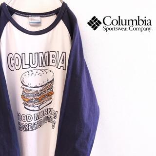 コロンビア(Columbia)の専用品 古着 90s ラグランTシャツ Columbia コロンビア 七分袖(Tシャツ/カットソー(七分/長袖))