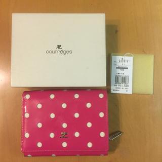 クレージュ(Courreges)の★ courreges ★ 三つ折り財布(財布)