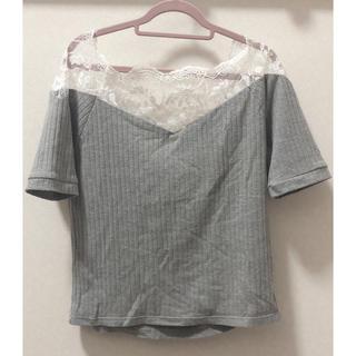 ミスティウーマン(mysty woman)のmysty woman❁レースTシャツ(Tシャツ(半袖/袖なし))