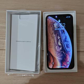 アイフォーン(iPhone)の【SIMフリー美品】 iPhone XS 256GB ゴールド(スマートフォン本体)
