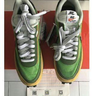 ナイキ(NIKE)の25CM Nike x sacai LDWaffle GREEN(スニーカー)