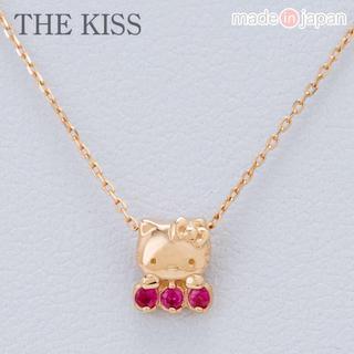 ハローキティ(ハローキティ)のハローキティ×THE KISS K10ルビーネックレス (ネックレス)