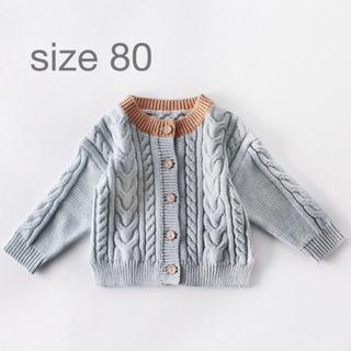 プチバトー(PETIT BATEAU)のニット 韓国ベビー服(ニット/セーター)